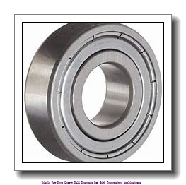 40 mm x 90 mm x 23 mm  skf 6308-2Z/VA201 Single row deep groove ball bearings for high temperature applications
