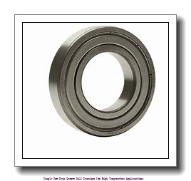 95 mm x 170 mm x 32 mm  skf 6219-2Z/VA201 Single row deep groove ball bearings for high temperature applications