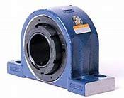 timken QVPK26V110S Solid Block/Spherical Roller Bearing Housed Units-Single V-Lock Four-Bolt Pillow Block