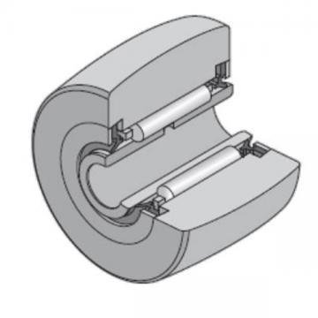 40 mm x 80 mm x 23 mm  NTN NA2208LL Needle roller bearings-Roller follower with inner ring