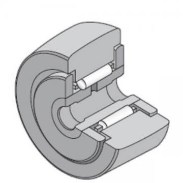 15 mm x 35 mm x 19 mm  NTN NATR15 Needle roller bearings-Roller follower with inner ring