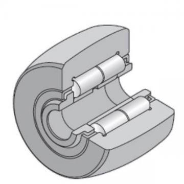 45 mm x 100 mm x 32 mm  NTN NUTR309/3AS Needle roller bearings-Roller follower with inner ring