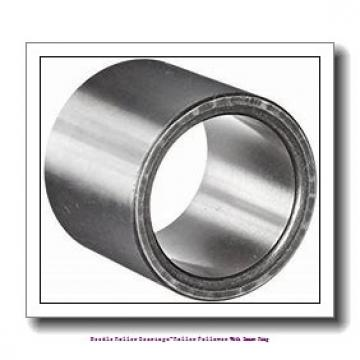 35 mm x 72 mm x 29 mm  NTN NUTR207X Needle roller bearings-Roller follower with inner ring
