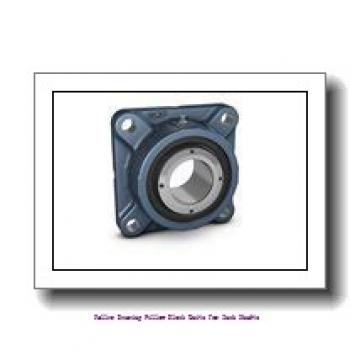skf SYE 3-3 Roller bearing pillow block units for inch shafts