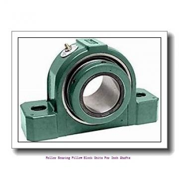 skf SYE 1 1/2 N-118 Roller bearing pillow block units for inch shafts