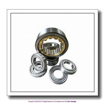 45 mm x 75 mm x 23 mm  skf NCF 3009 CV Single row full complement cylindrical roller bearings