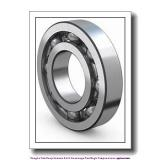 45 mm x 100 mm x 25 mm  skf 6309/VA201 Single row deep groove ball bearings for high temperature applications