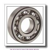 25 mm x 52 mm x 15 mm  skf 6205-2Z/VA228 Single row deep groove ball bearings for high temperature applications