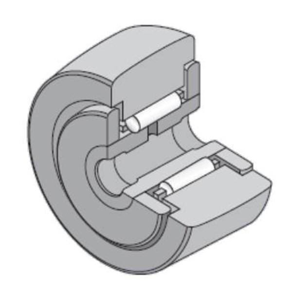 20 mm x 47 mm x 25 mm  NTN 8Q-NATR20XLL/3AS Needle roller bearings-Roller follower with inner ring #2 image