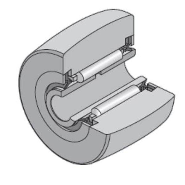 20 mm x 47 mm x 18 mm  NTN NA2204XLL/3AS Needle roller bearings-Roller follower with inner ring #2 image