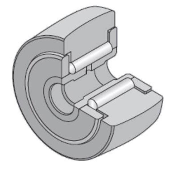 10 mm x 30 mm x 15 mm  NTN NATV10X/3AS Needle roller bearings-Roller follower with inner ring #2 image