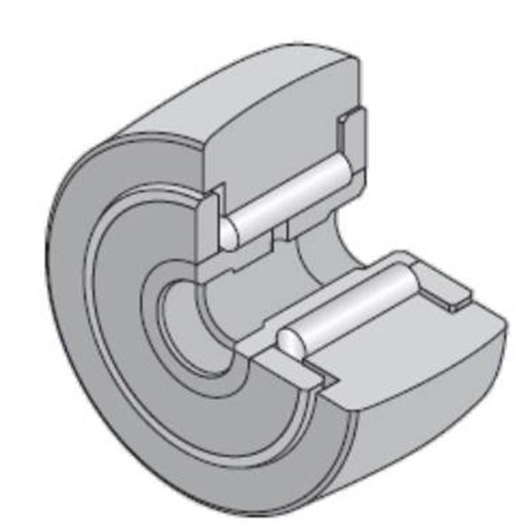 15 mm x 35 mm x 19 mm  NTN NATV15LL/3AS Needle roller bearings-Roller follower with inner ring #2 image